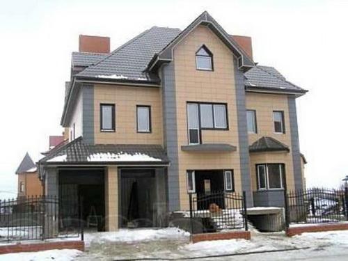 керамогранит для фасада дома 2