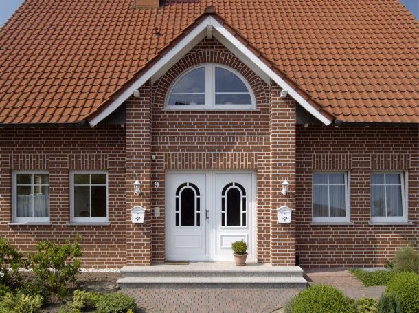 Клинкерный кирпич для отделки фасада дома