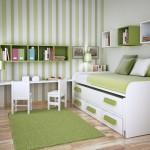 комбинирование обоев для детской комнаты