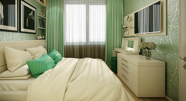 комод в спальне