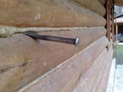 конопатка деревянных стен