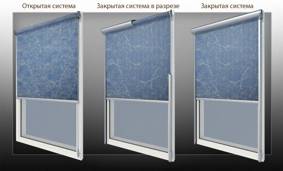 Как подобрать рулонные шторы на пластиковые окна