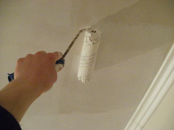 косметический ремонт кухни потолок