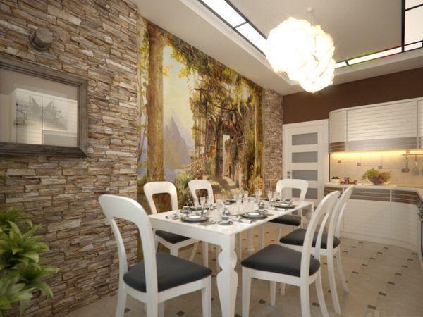 косметический ремонт кухни стены 2