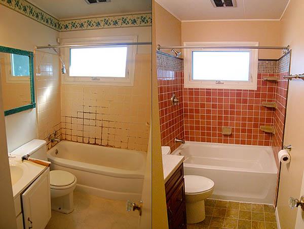 косметический ремонт ванной комнаты 2