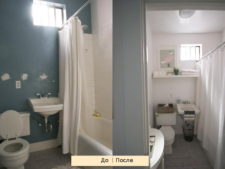 косметический ремонт ванной комнаты 3