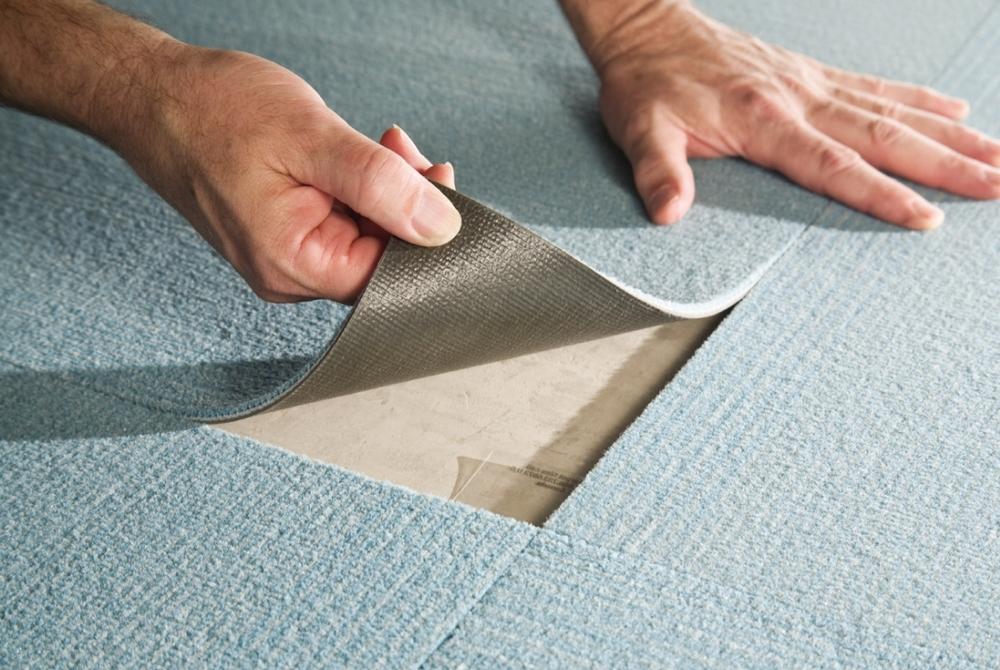 ковровая плитка для спальни