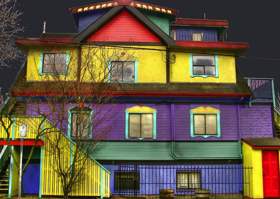 краска для фасада дома 2