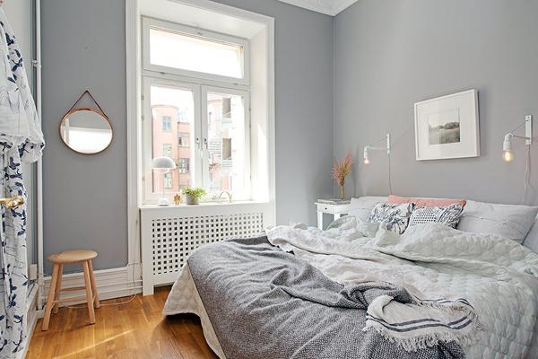 краска для стен спальни