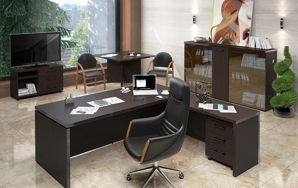 Выбор кресла руководителя и стиль кабинета