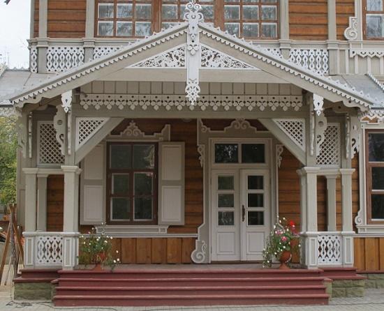 крыльцо в русском стиле