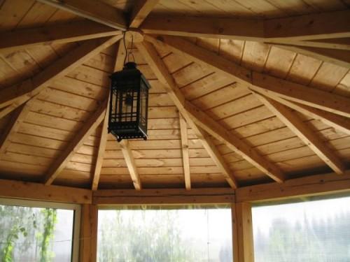 Чем покрыть крышу беседки на даче
