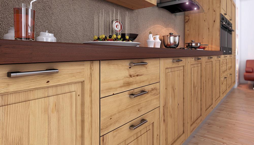 Кухни из массива дерева: 6 советов по выбору