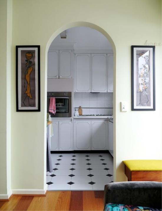 кухня в хрущевке двери 2