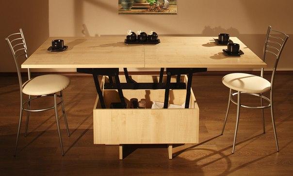 кухня в хрущевке обеденный стол 5