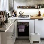 кухня в хрущевке п образный гарнитур