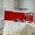 кухня в хрущевке подоконник 2