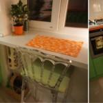 кухня в хрущевке подоконник 8