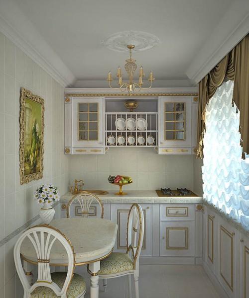 кухня в хрущевке стиль интерьера 2