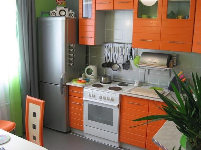 кухня в хрущевке техника