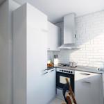 кухня в хрущевке цвет 4