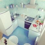 кухня в хрущевке цвет 5