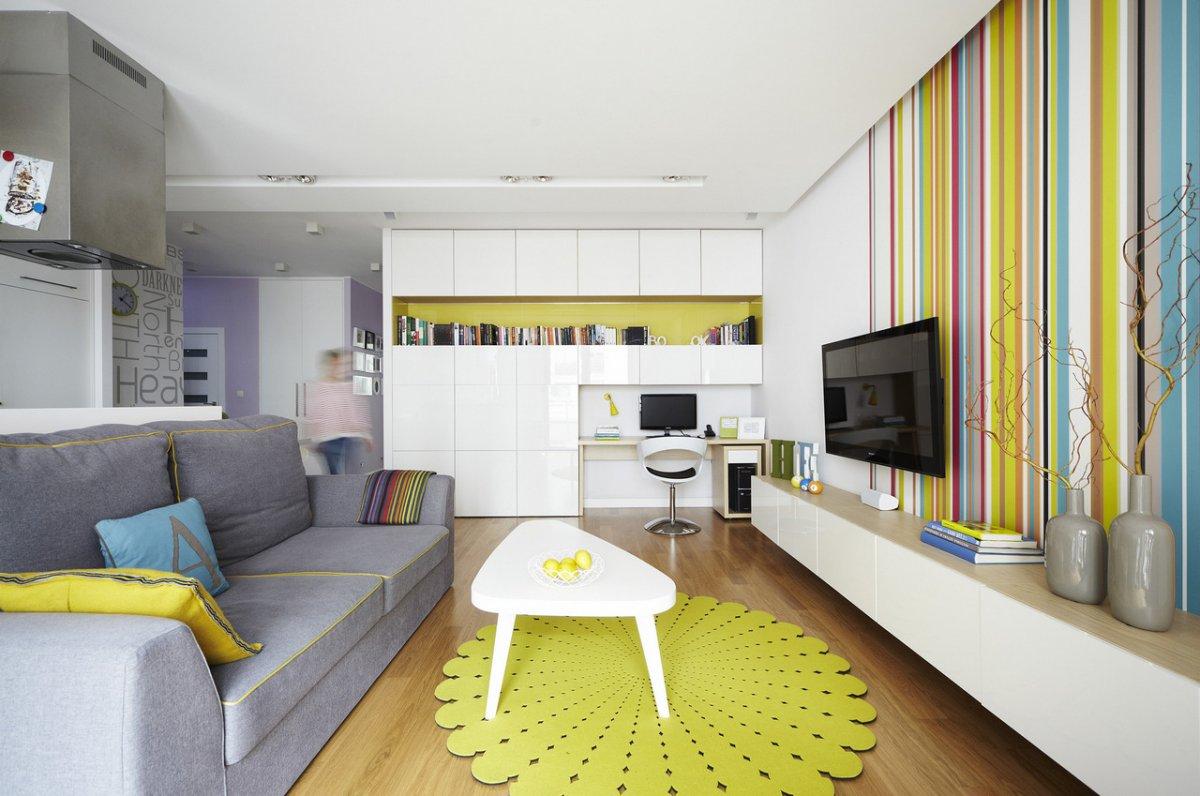 квартира студия мебель 5