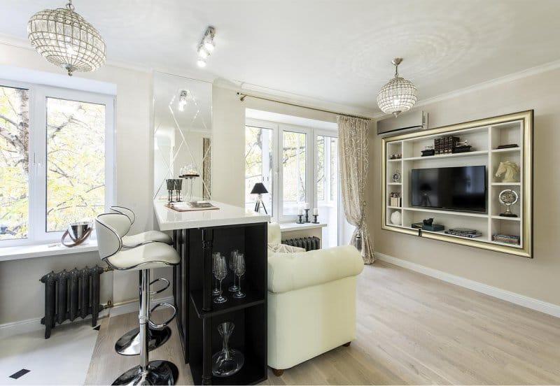 9 советов по дизайну квартиры-студии: интерьер и планировка