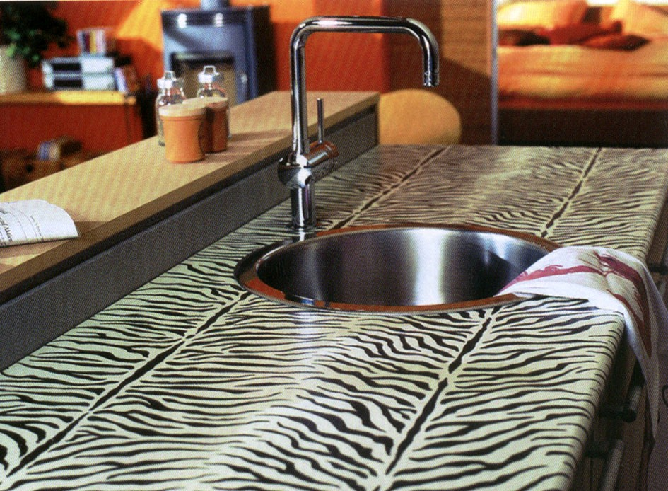 ламинированная столешница для кухни