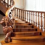 лестница стиль оформления