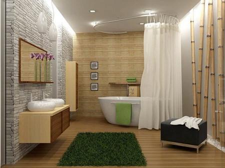 линолеум для отделки стен ванной комнаты