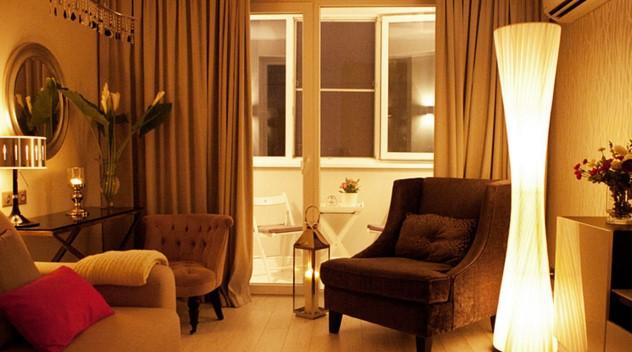 локальное освещение в гостиной 3