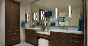 Туалетный столик в ванную: 8 советов по выбору