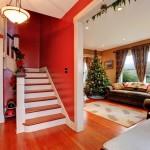 маршевая лестница в доме 3