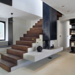 маршевая лестница в доме 4