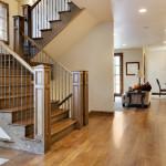 маршевая лестница в доме 5