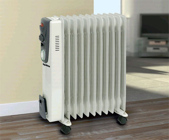 масляный радиатор на даче
