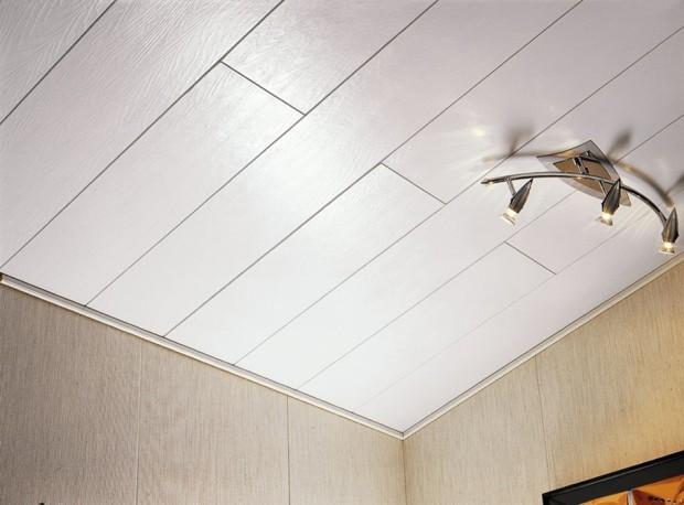 мдф панели потолок в спальне