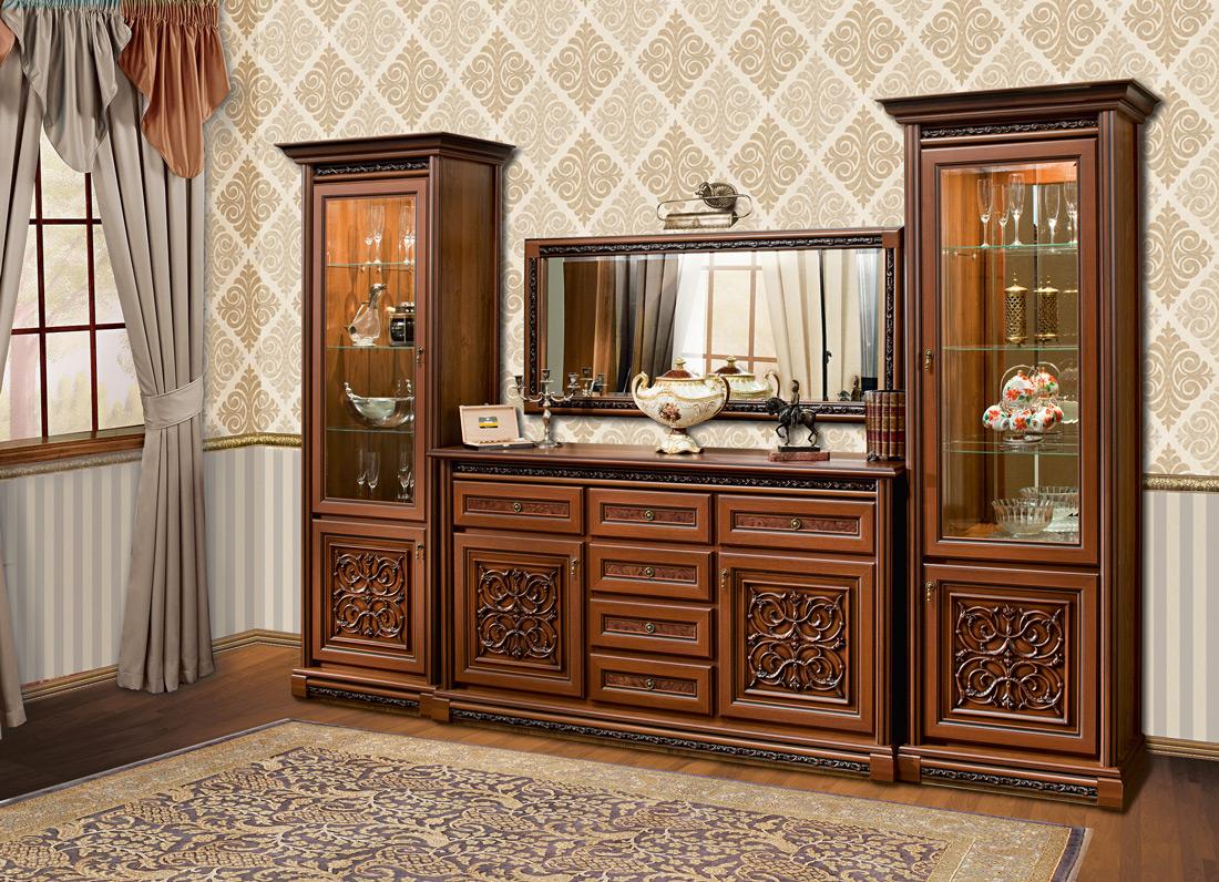мебель для гостиной материал