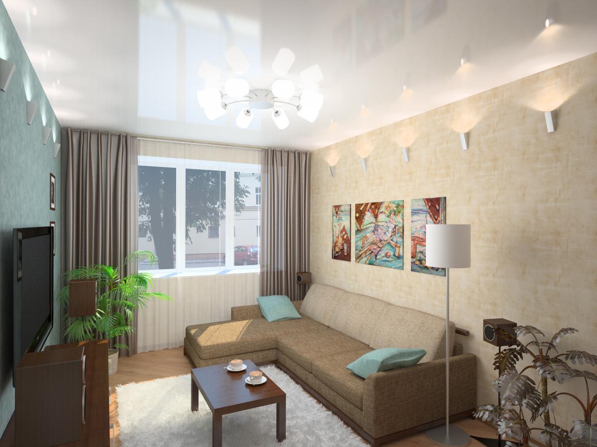 мебель для маленькой гостиной 3