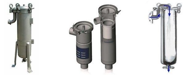 Мешочные фильтры грубой очистки воды