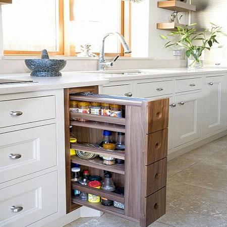 места хранения на кухне 3