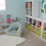 места хранения в детской комнате