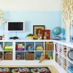 места хранения в детской комнате 2