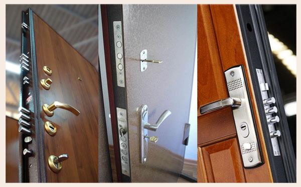 Металлические входные двери в квартиру и дом