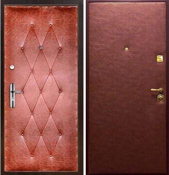 металлическая входная дверь отделка винилискожа