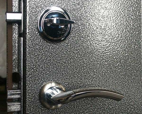 металлическая входная дверь порошковое покрытие
