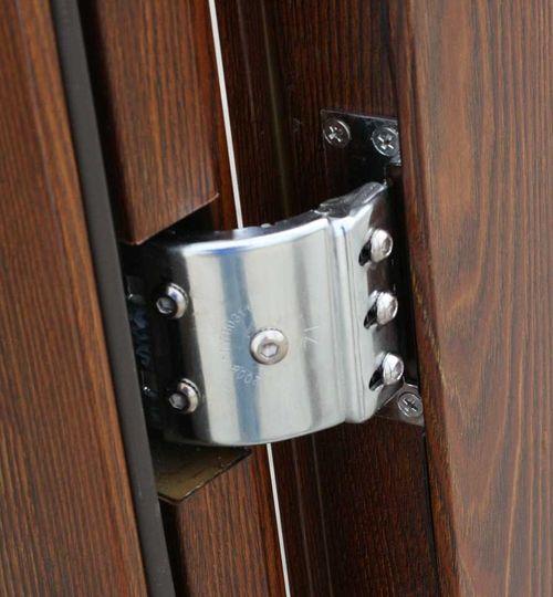 металлическая входная дверь скрыты петли