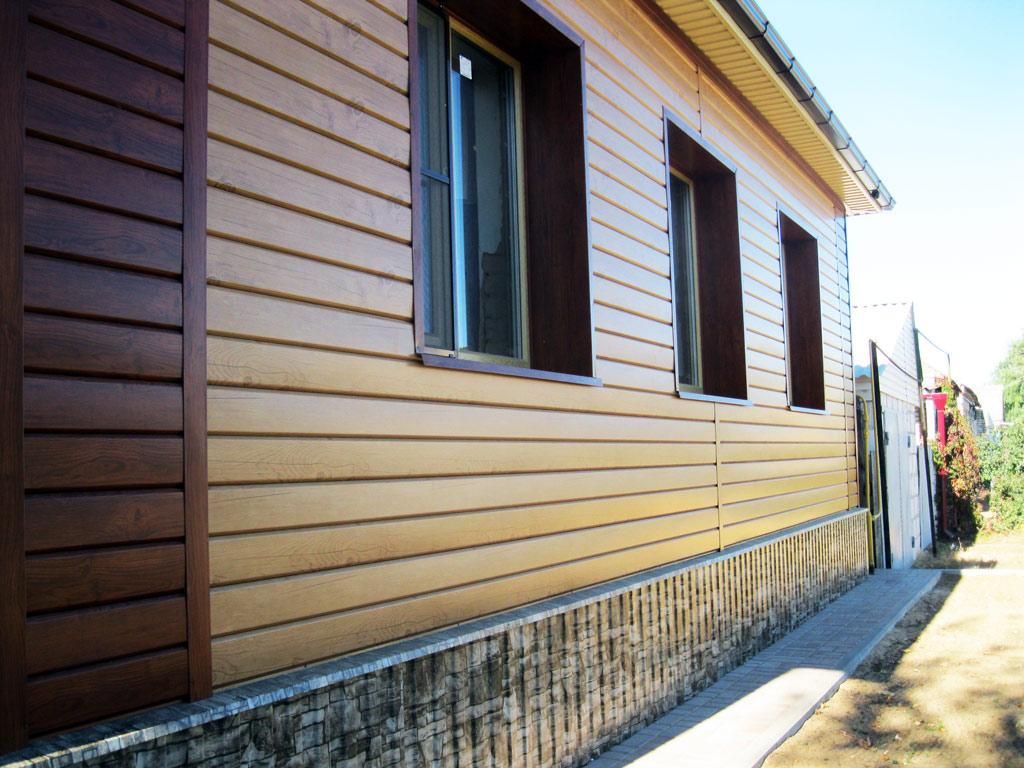 металлический сайдинг для фасада дома