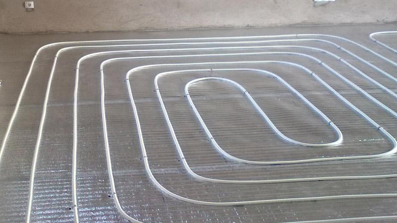 металлопластиковые трубы для водяного теплого пола
